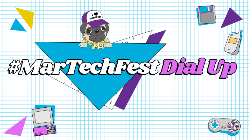 MarTechFest Dial Up Logo