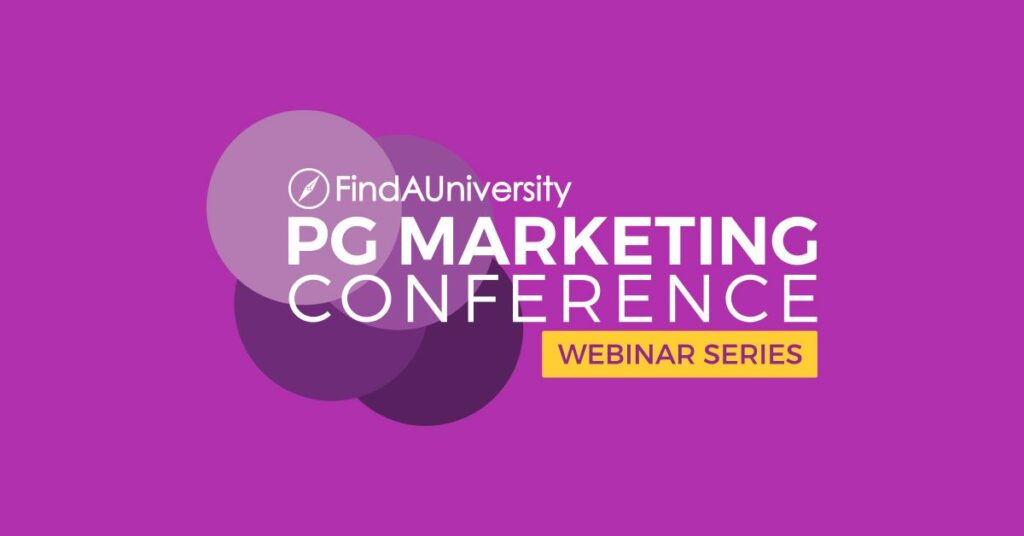 Find a University PG Marketing Conference